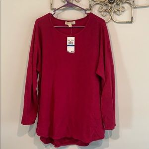 Super cute fushia Michael kors sweater